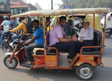 Delhi2017IndiaRickshawriding1