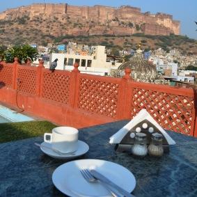 Jodhpur2017IndiaHaveliInnPalbreakfastview