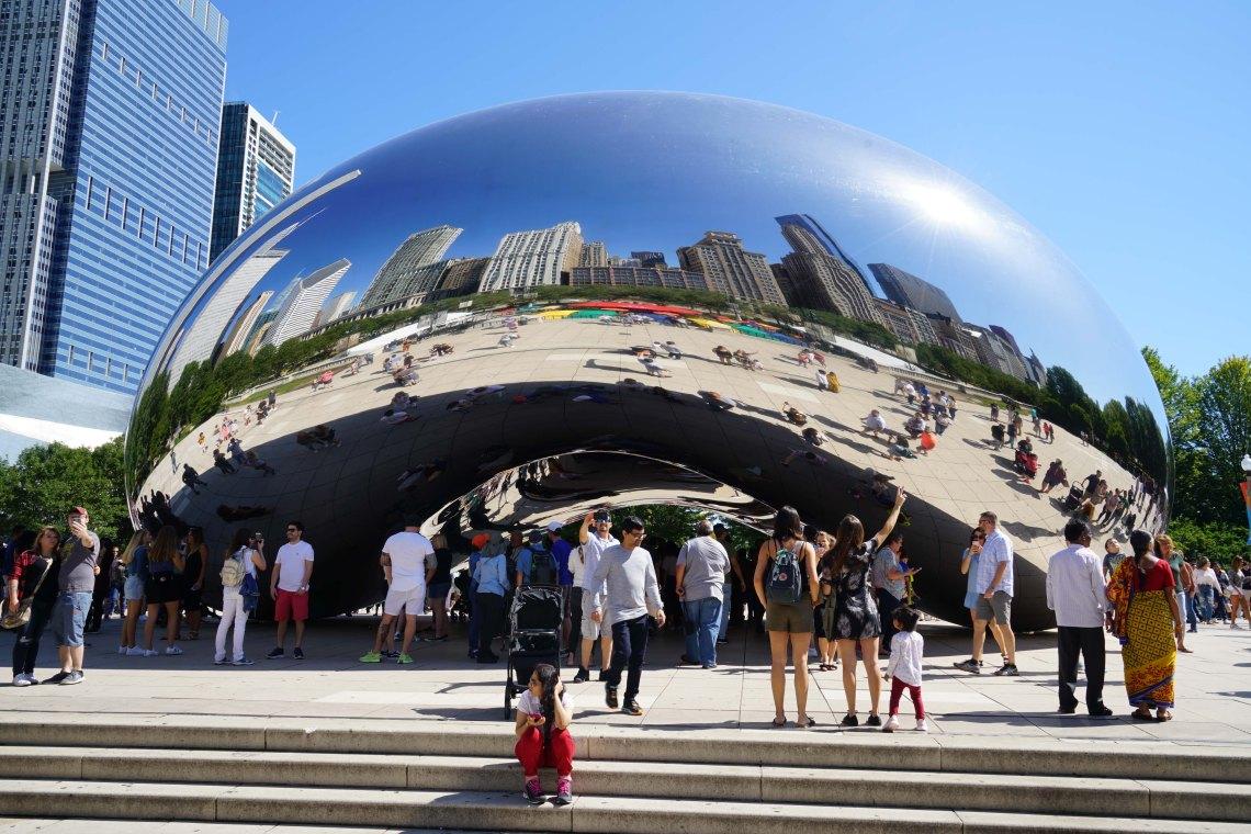 ChicagoMilleniumParkCloudGateSept2019-1
