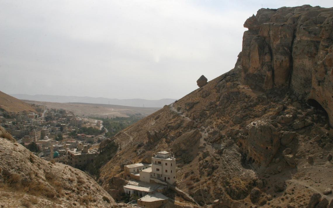 SyriaMaalularockonhillSept2010